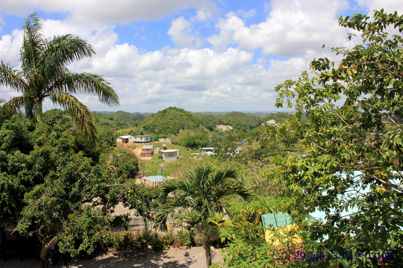 Jamaica: View from Inside Bob Marley's House