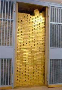 Gold vault NYC