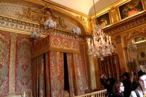 Versailles Palace - royal bed and bedroom