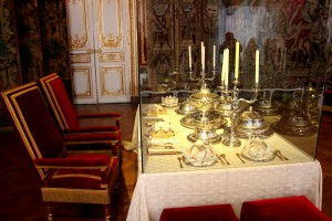 Versailles Palace - dinner table