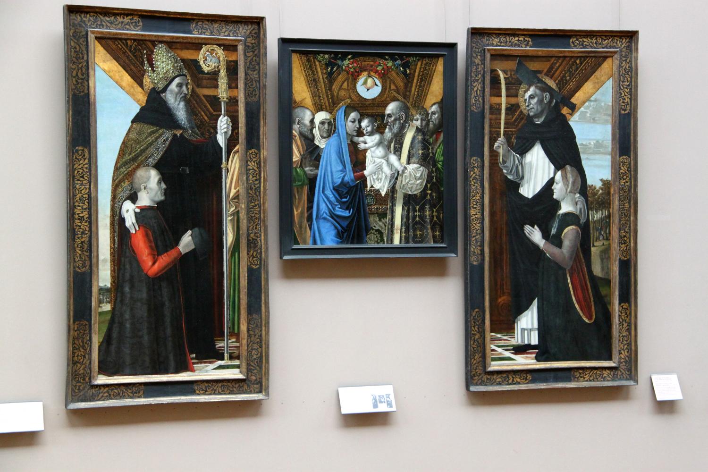 Painting by Ambrogio da Fossano, Louvre Museum, Paris
