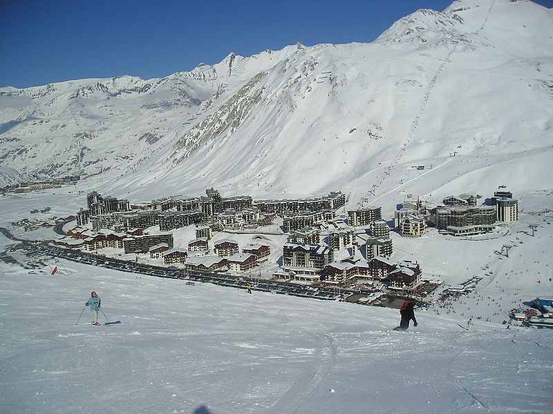 Tignes winter