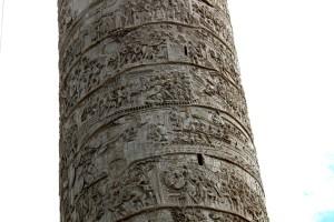 Trajan column, Rome, detail