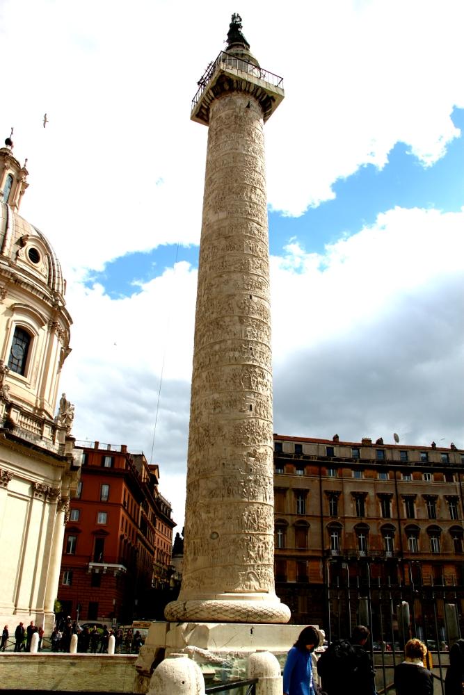 Trajan column, Rome