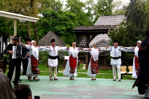 People dancing - a folklore song