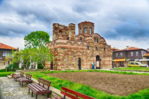 The Christ Pantocrator Curch in Nessebar,Bulgaria.UNESCO World Heritage Site
