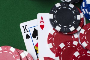 casino chips cards