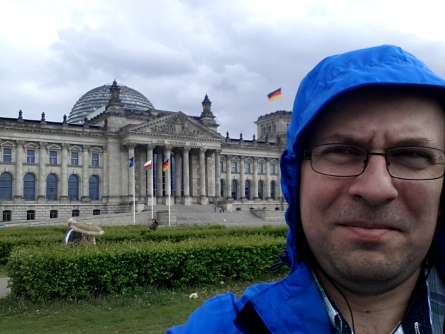 Andrei's first and only selfie - Bundestag, Berlin