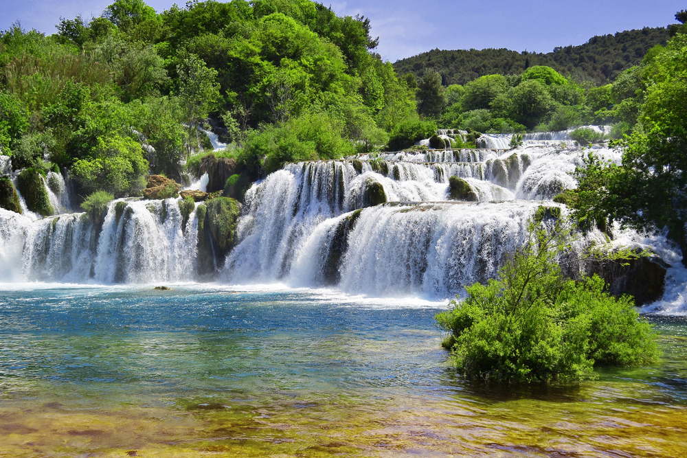 Krka National Park - waterfalls