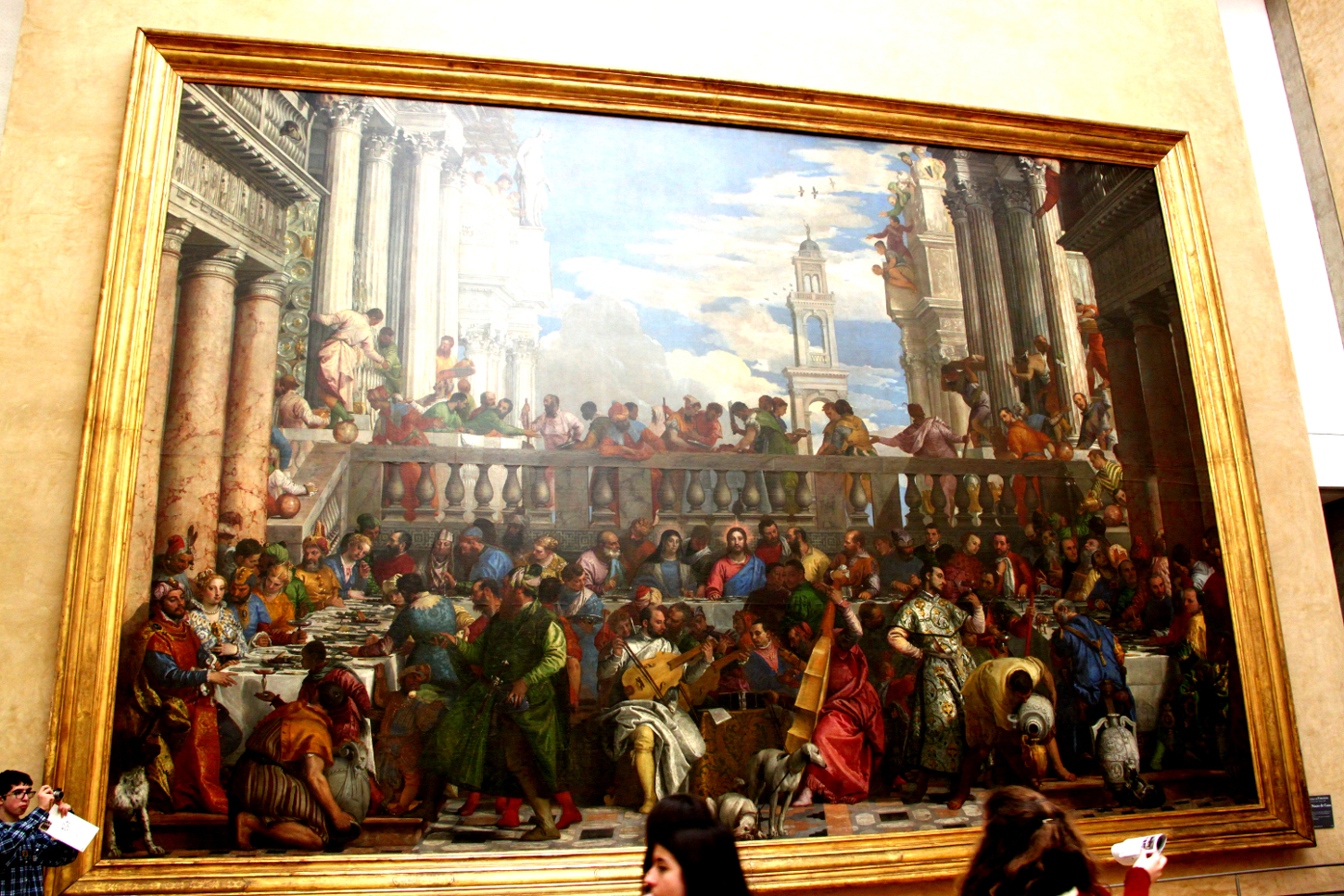 The Wedding Feast at Cana, Louvre Museum