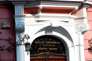 The National Bank of Romania's branch in Brasov