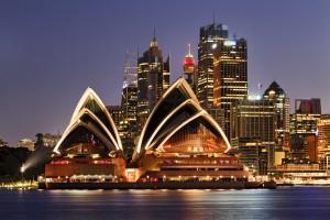 Australia - Sydney city landmarks CBD harbour