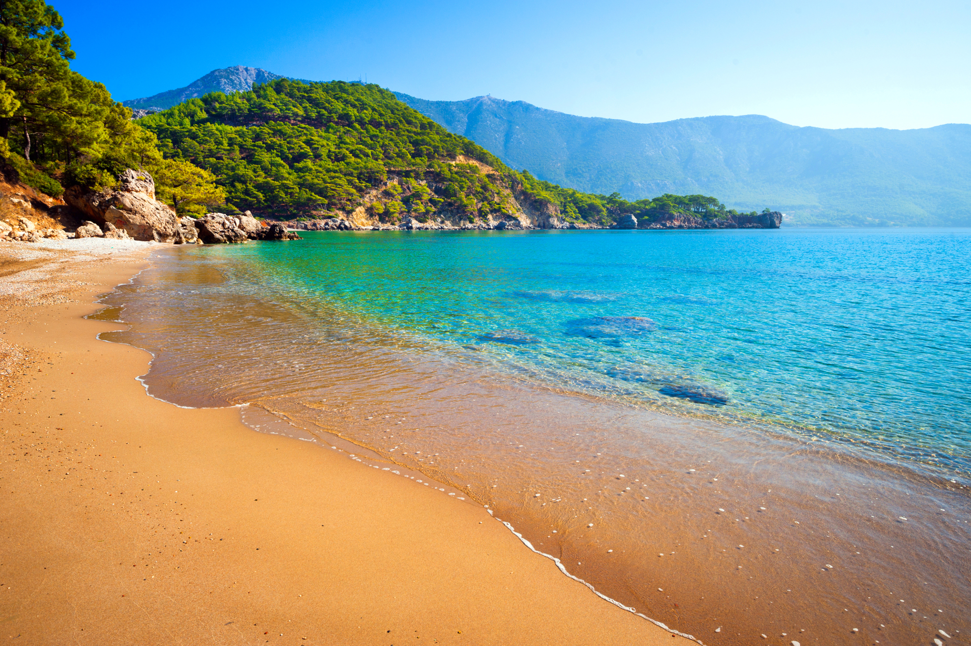 Antalya - Turkey - beach