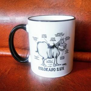 Special funny mug from Denver, USA - travel souvenir
