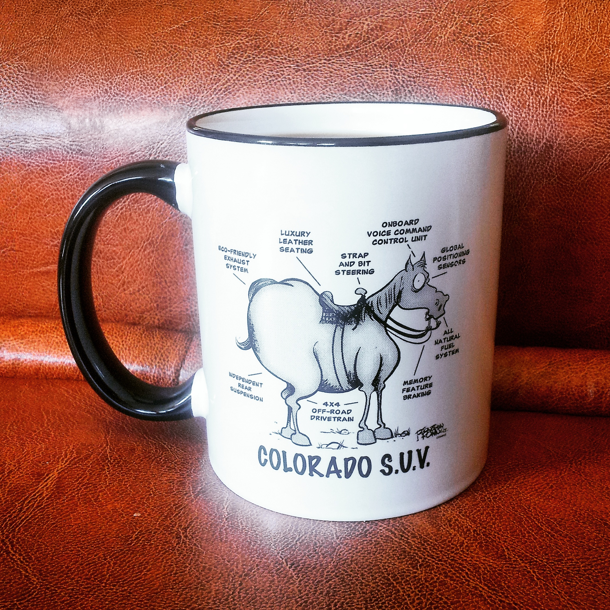 Special funny mug from Denver, USA - travel souvenir