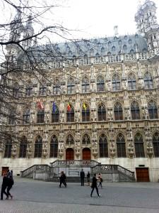 Town Hall in Leuven, Belgium