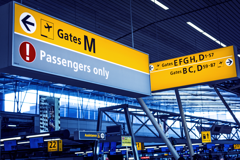Schiphol gates