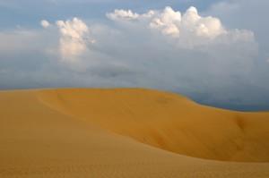 Venezuela - Sand dunes Medanos De Coro National Park near the city of Coro