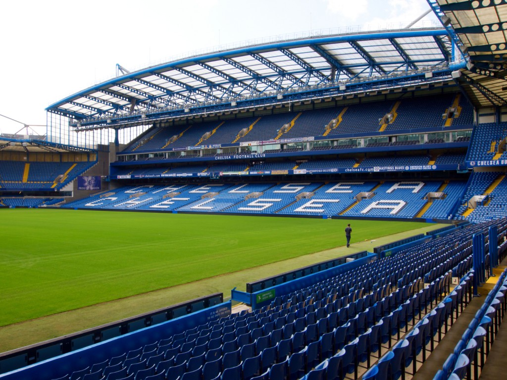 Chelsea FC Stamford Bridge Stadium