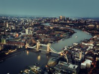 London aerial view