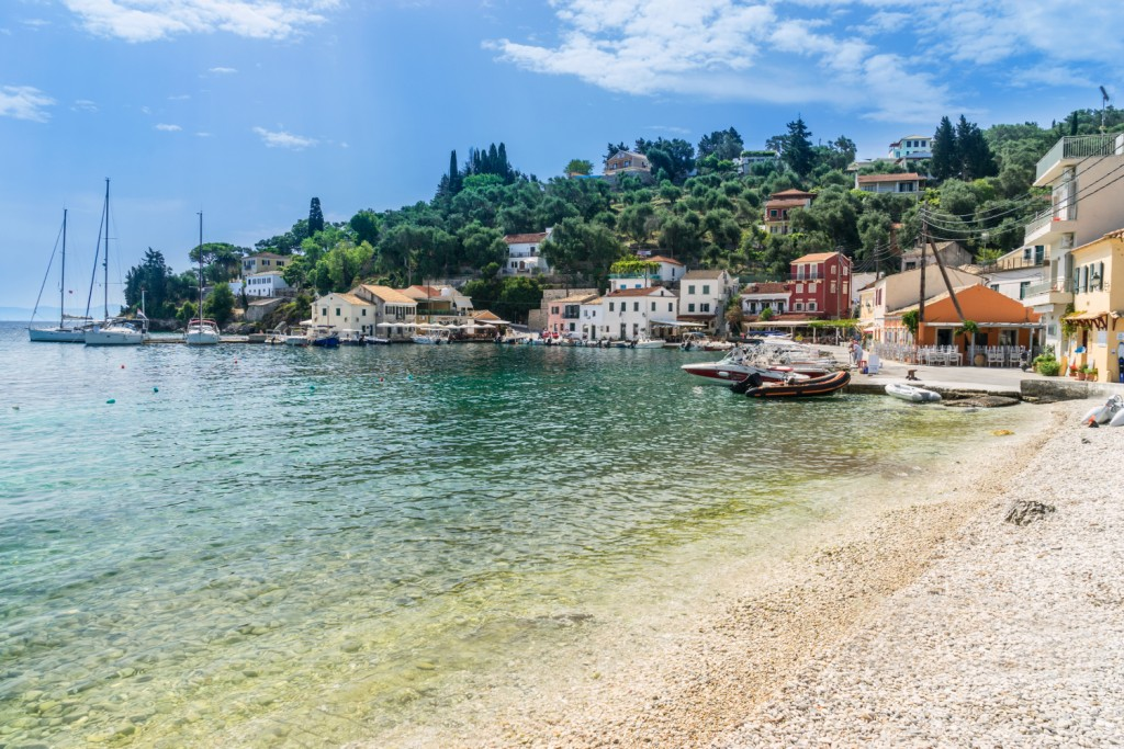 Longos on the Island of Paxos