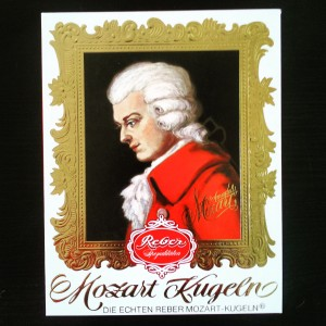 Mozartkugeln - Mozart balls - box