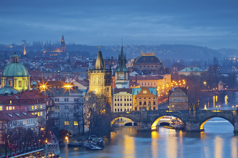 Prague and Charles Bridge