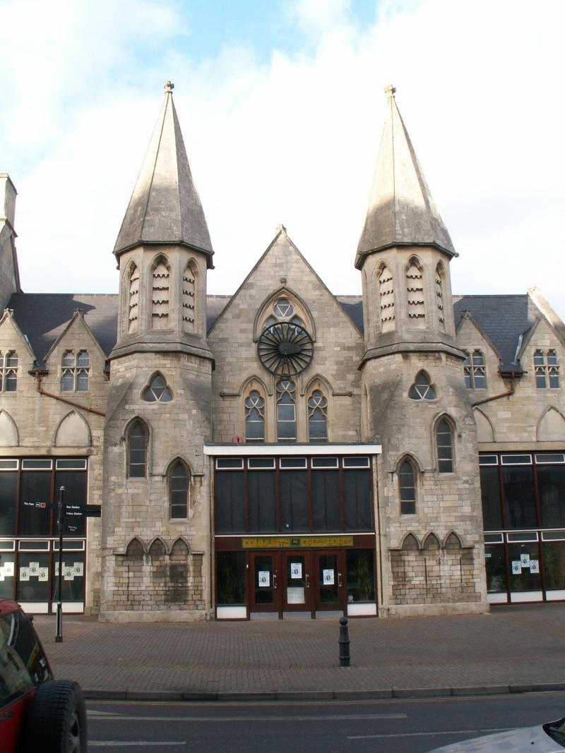 The Community Centre in the Railway Village, Swindon