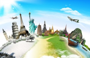 Travel the world famous monuments
