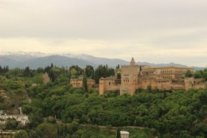 Alhambra and Sierra Nevada Public Domain Work Some rights reserved by gonzalolha1