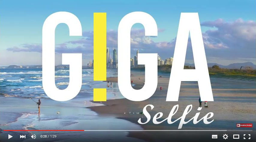 Giga selfie - Australia