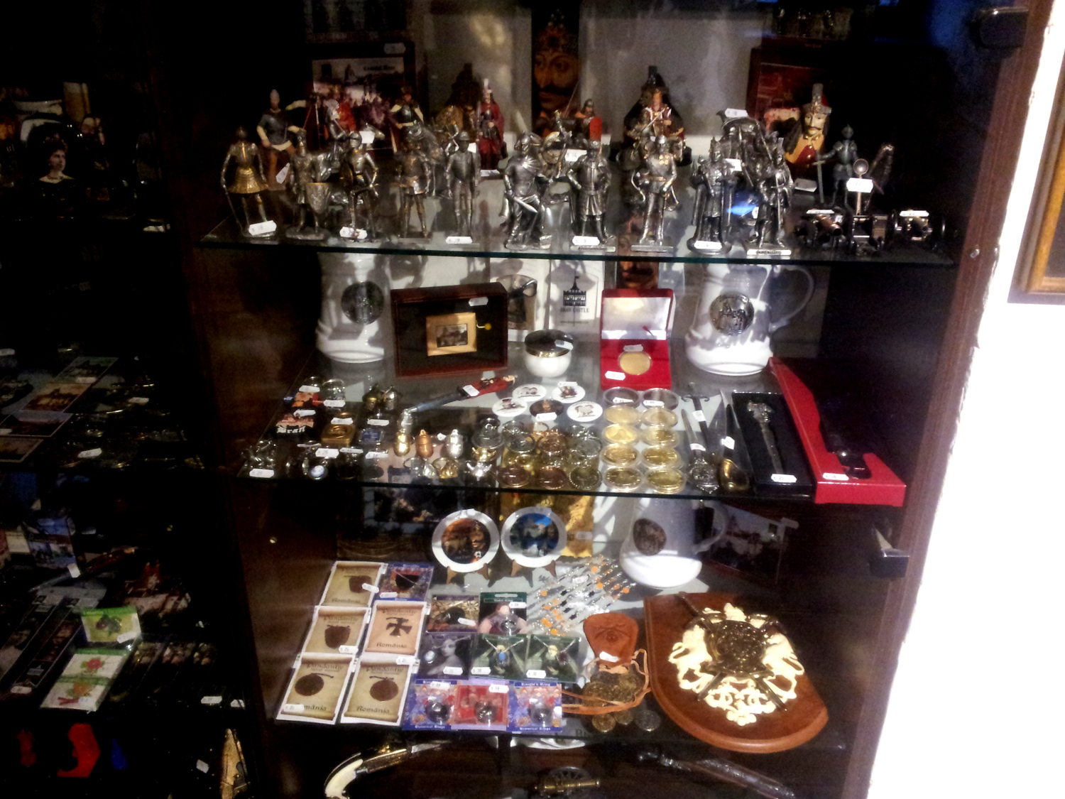 Bran Castle - souvenirs shop