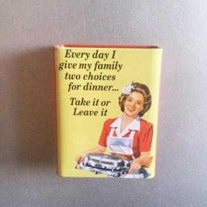 fridge magnet UK - dinner options