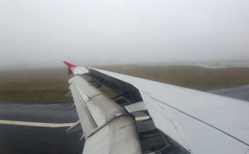 Fog at OIslo airport1