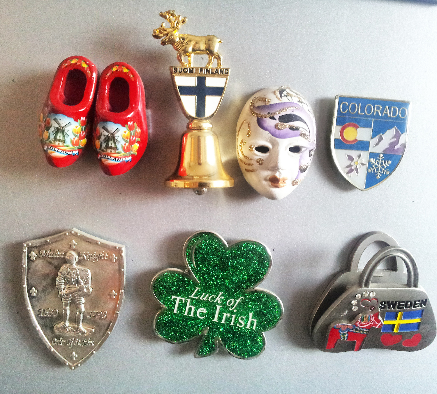 favorite small fridge magnets