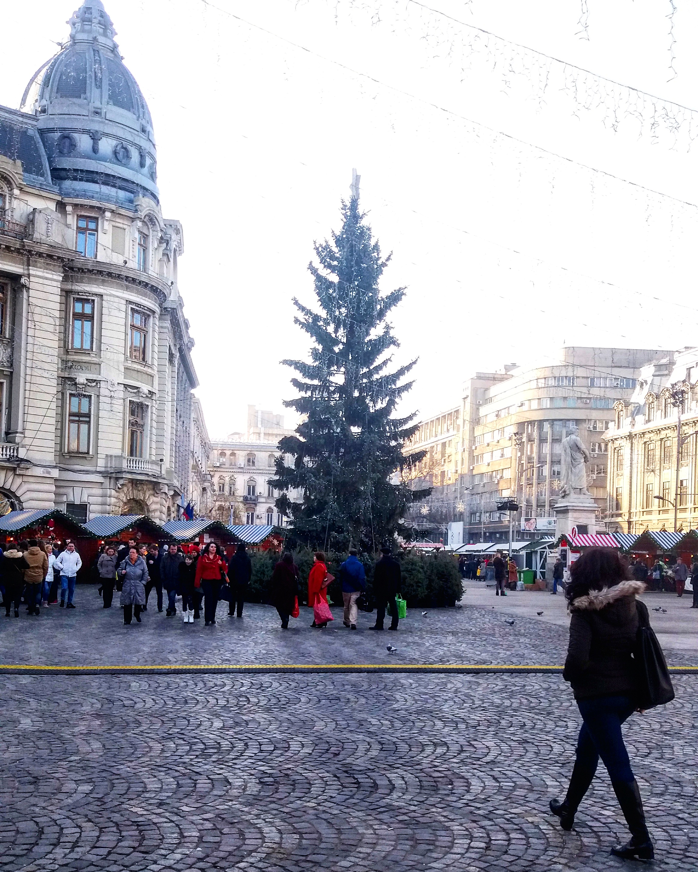 Bucharest Christmas Market - Christmas tree