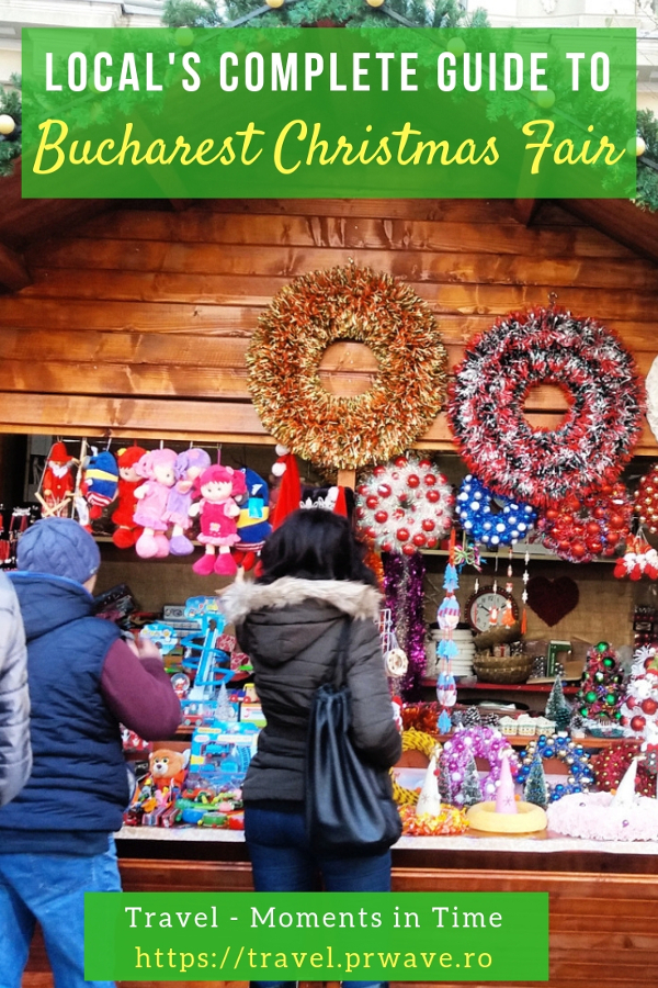 Planning a trip to Bucharest in December? Here's a local's complete guide to the Bucharest Christmas Fair - top things to do at the Bucharest Christmas Market, tips, and the best Christmas activities in Bucharest, Romania. #christmas #bucharestchristmasmarket #bucharestdecember #christmasmarket