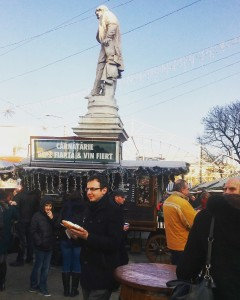 Bucharest Christmas Market - food