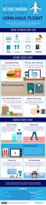 Guide to long-haul flights #infographic