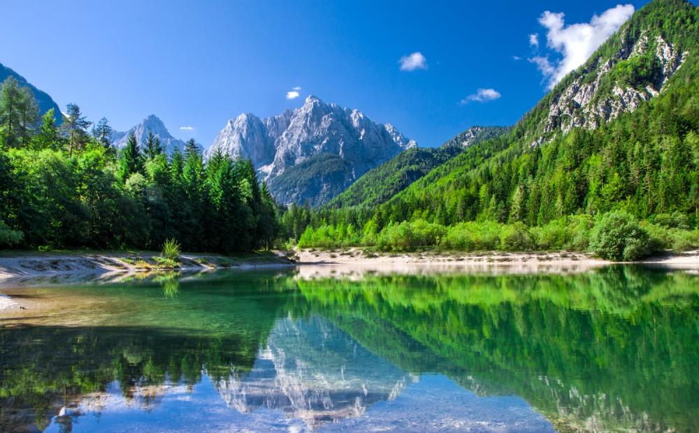 Valley in the Triglav National Park