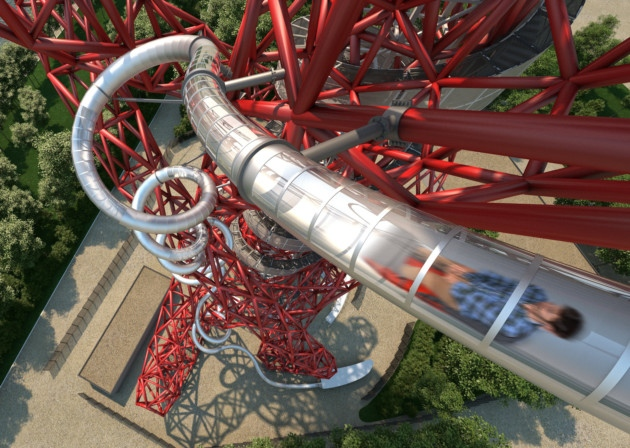 ArcelorMittal Orbit, the new thrilling attraction in London and world's tallest and longest tunnel slide