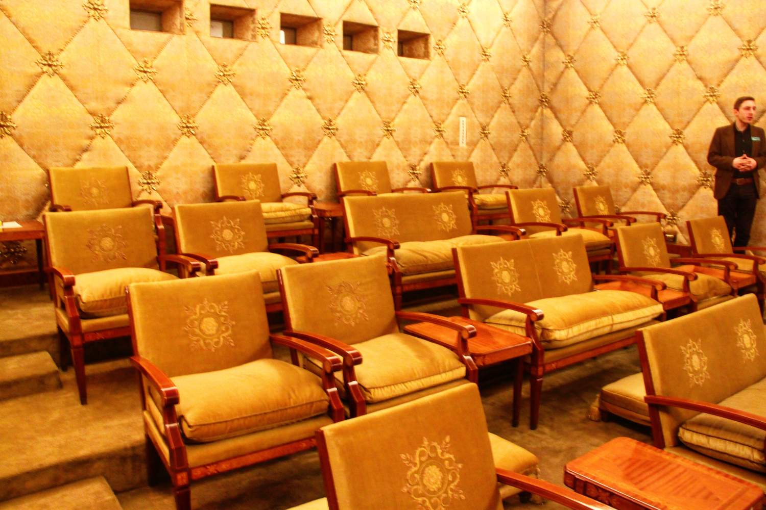 Primaverii (Spring) Palace, Ceausescu's private residence - Cinema room