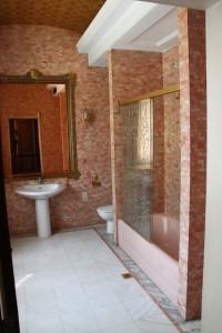 Primaverii (Spring) Palace, Ceausescu's private residence - Valentin Ceausescu's bathroom