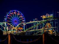 Atlantic City Steel Pier at Night