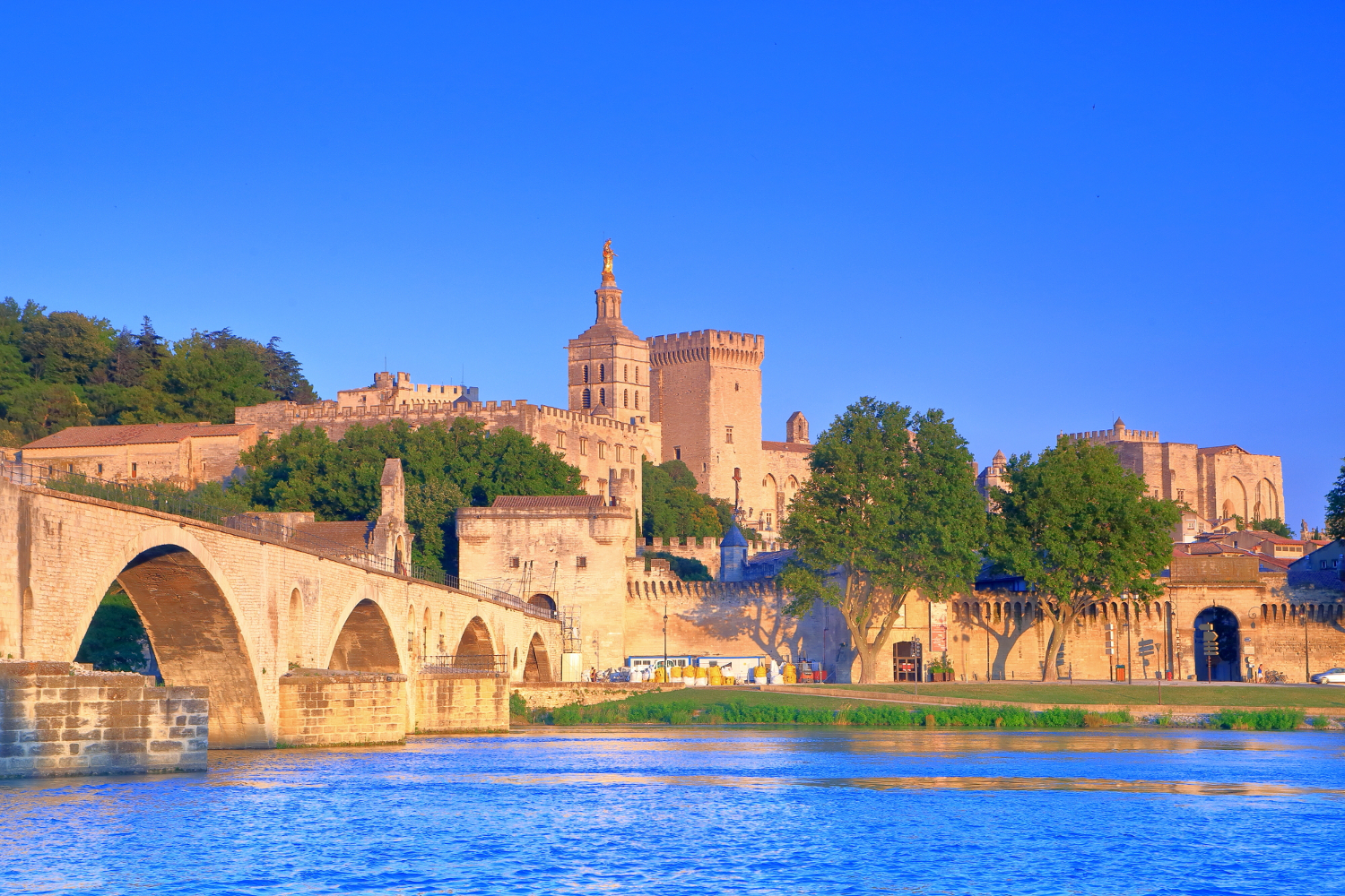 Avignon - The Cathedral and Papal Palace (Palais des Papes), #France, #travel #best #photos and #places