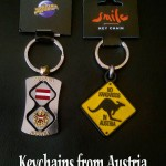 New keychains from Austria