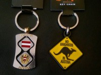 New keychains from Austria