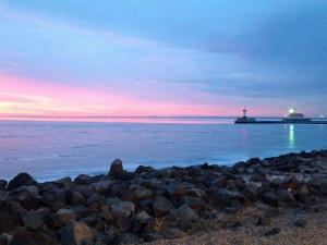 #Duluth, #Minnesota - #Lake Superior #sunrise