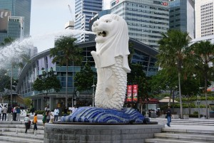 Merlion, #Singapore - best places to visit in Singapore - http://travel.prwave.ro/best-things-to-see-and-do-in-singapore/
