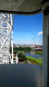 New #ferris #wheel and amusement #park in #Bucharest, #Romania - #travel, #Europe, #fun, #kids
